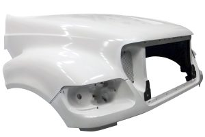 2000 TO EARLY 2004 Ford F650, F750, F850 hood - right side - JP-F20