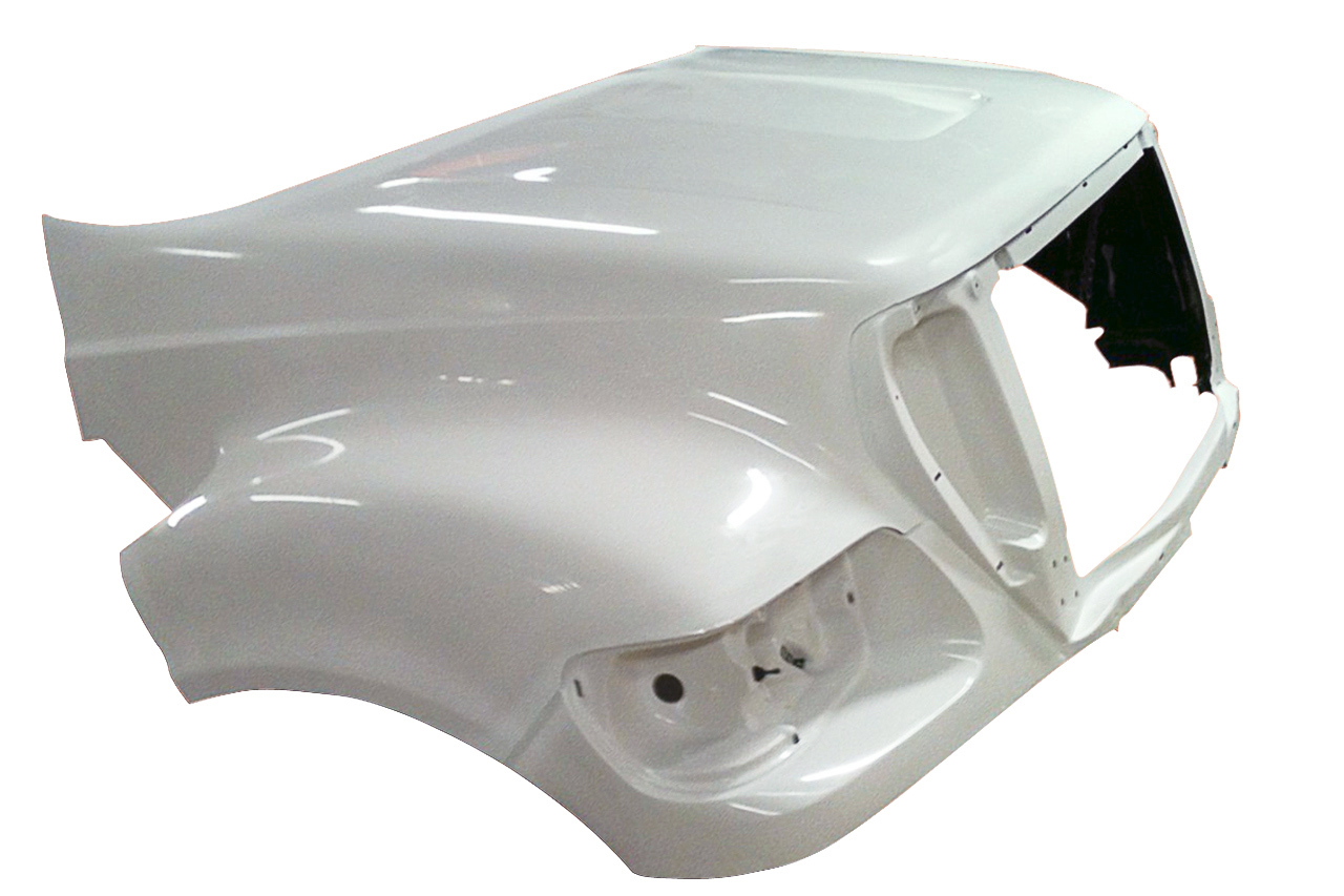 2010 to 2015 Ford F650, F750, F850 Hood - right side - JP-F23