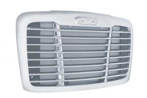 Freightliner Cascadia Chrome Grill with Bug Screen