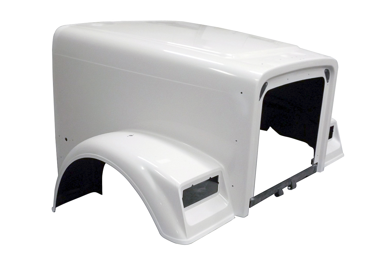 1988 to 2004 FREIGHTLINER CLASSIC XL HOOD 132 BBC - right side - JP-FL07