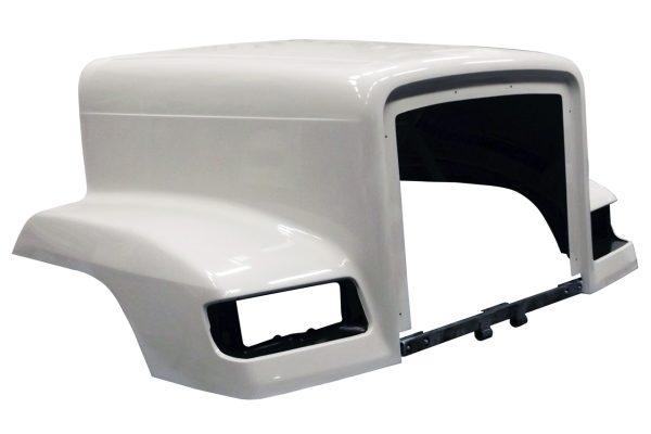 -Black 1993 Freightliner FLC 112 CONVENTIONAL Side Roof mount spotlight Larson Electronics 1015P9JI4NG 6 inch 100W Halogen Passenger side WITH install kit