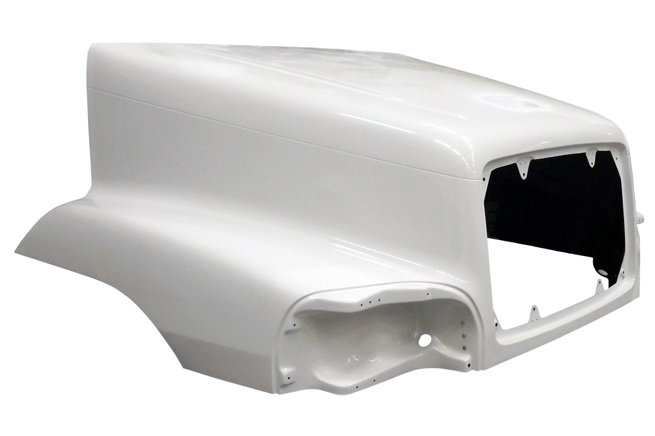 2002 to 2004 FREIGHTLINER CENTURY C120 HOOD - right side - JP-FL13