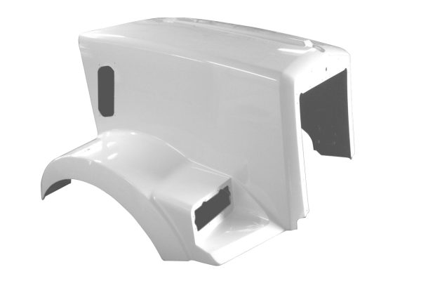 Kenworth T800 Metton Replacement Hood short JP-K32