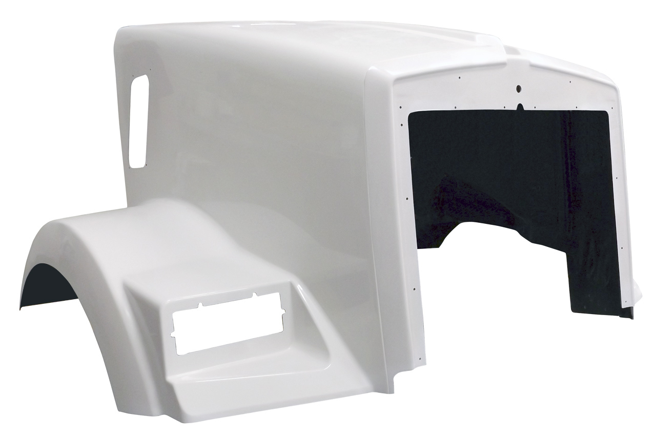 1987 TO EARLY 2007 Kenworth T800 Hood - front right - JP-K19