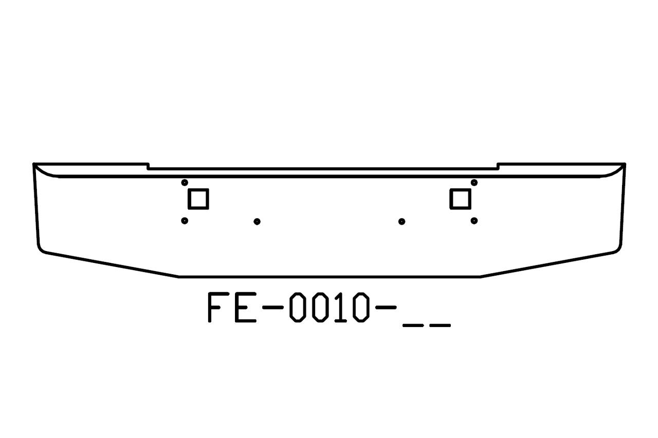 140-FE-0010-02 Aftermarket, Fits Kenworth W900L W900B