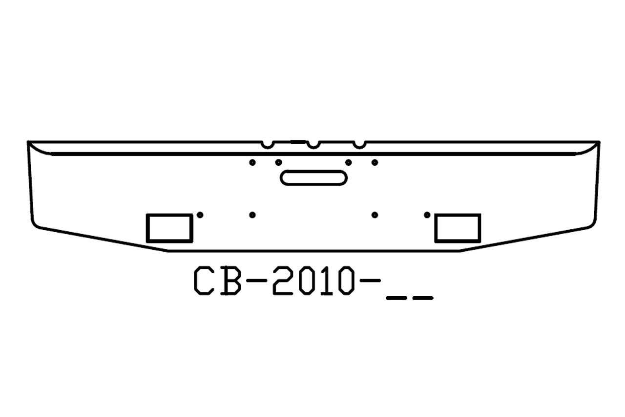 1984 to 1999 Freightliner classic chrome bumper