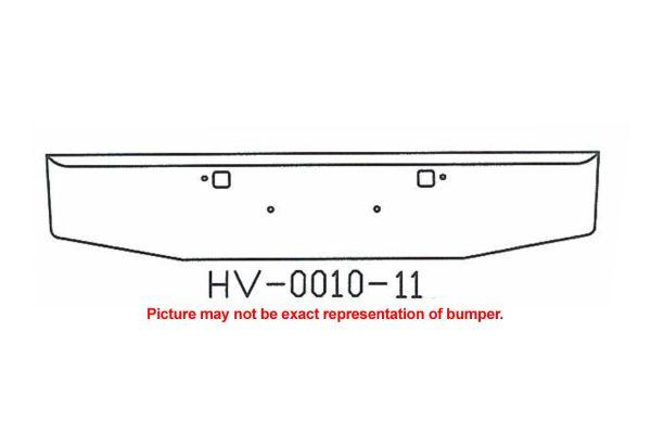 2007 and newer Peterbilt 365 388 389 Bumper V-HV-0010-11