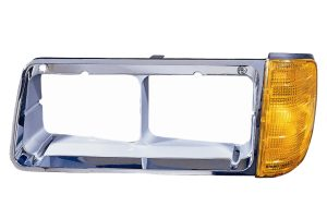 Freightliner FLD120 & FLD112 BEZEL WITH TURN SIGNAL 340-1202L-AS