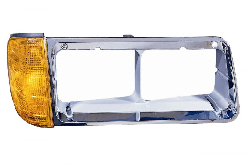 Freightliner FLD120 & FLD112 BEZEL WITH TURN SIGNAL 340-1202R-AS