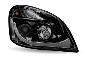 Passenger Side Freightliner Cascadia Headlight Assembly LED Projector