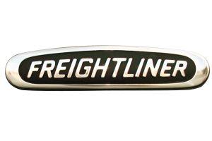 Freight chrome emblem OEM
