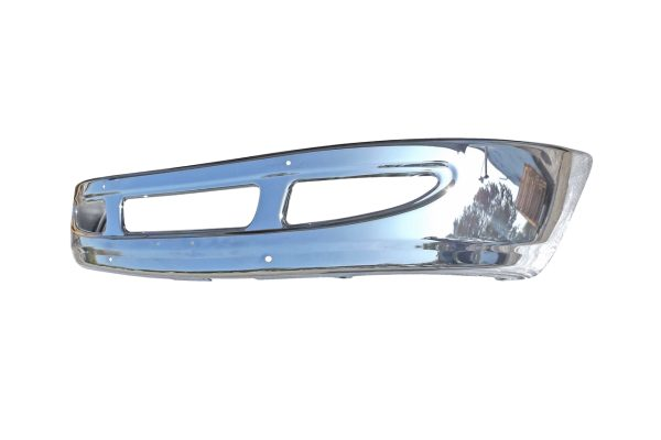 2002 and newer International 4200, 4300, 4400, 8600 chrome bumper - side view