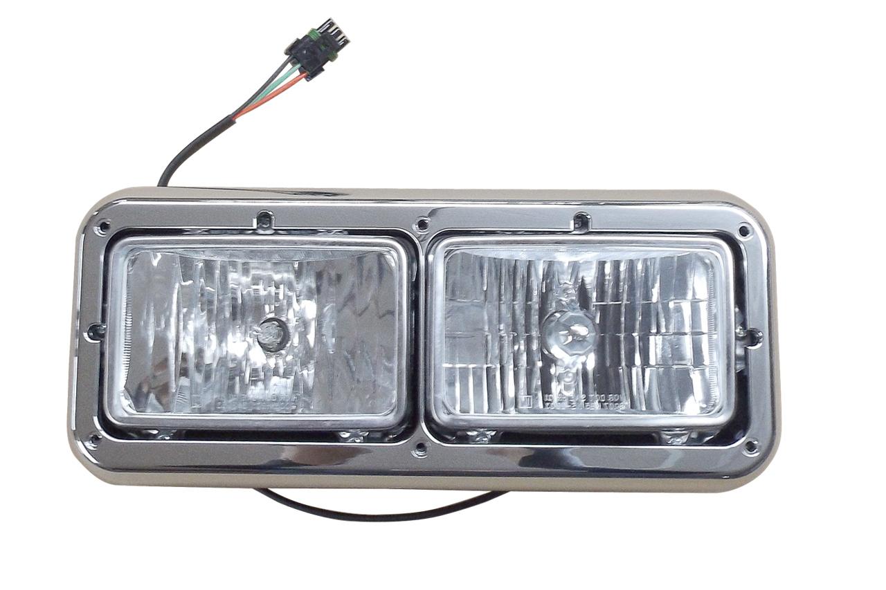 Kenworth Headlight Assembly left side with Bezel 499-417521i
