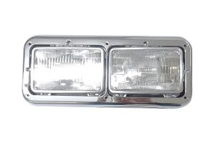 Kenworth Dual Headlight Assembly W/ Bezel - 499-411076I