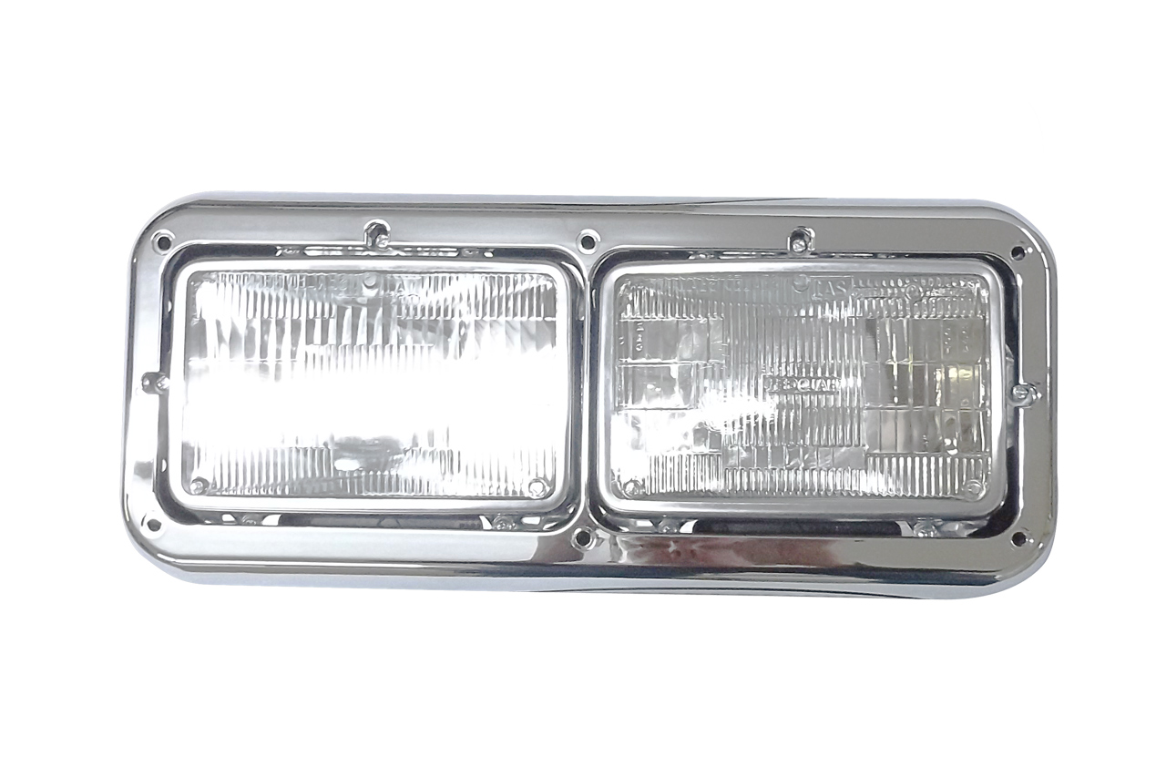 Kenworth Headlight Assembly W/ Bezel - 499-411076I