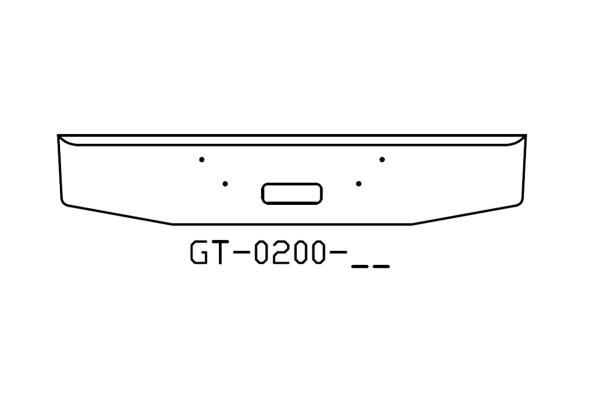 Mack Granite 16in bumper - GT-0200-02