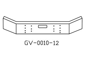 Mack RD688 DM 12in bumper GV-0010-12
