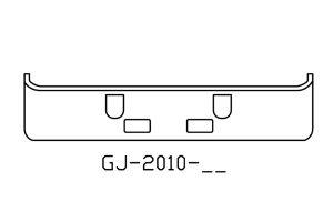1994 to 2004 Mack CH613 bumper - GJ-2010-35
