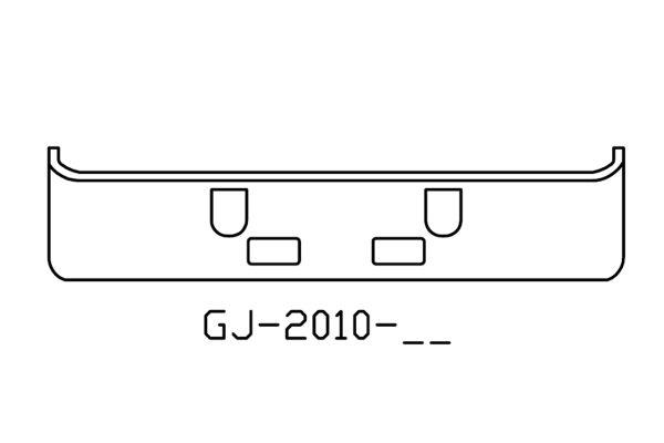 1994 to 2004 Mack CH613 bumper