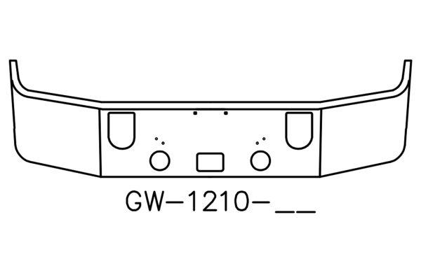 Mack CXN613 Bumper
