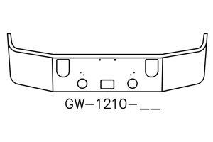 """Mack CXN613 CXP613 16"""" bumper"""