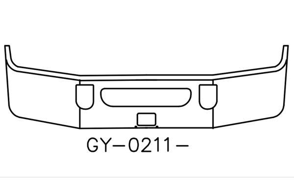 2008 to 2016 Mack Vision CXU613 SBA Bumper