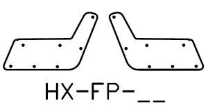 HX bumper top plates