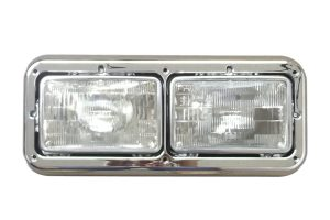 Peterbilt dual headlight assembly 499-411014I