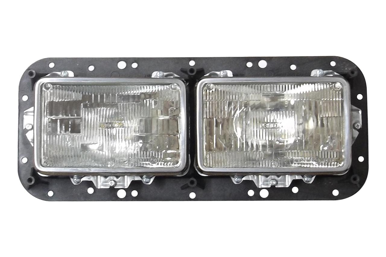 Peterbilt headlight assembly internal view 499-411013i