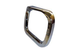Universal 200mm CHROME BEZEL EYEBROW