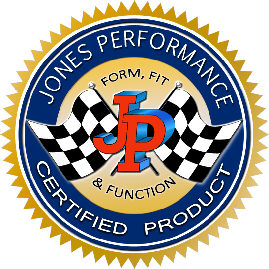 Jones Performance Certified Product