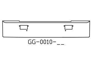 1986 to 1987 Mack mh coe superliner bumper