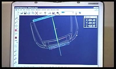 CAD Specs for truck hood