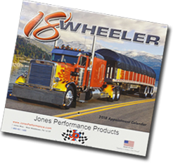 Jones Performance Products Calendar