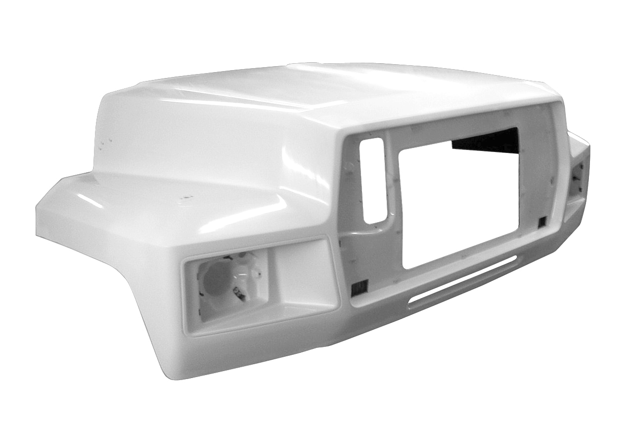 1984 to 1994 Ford F600, F700, and F800 Hood - Left side - JP-F10