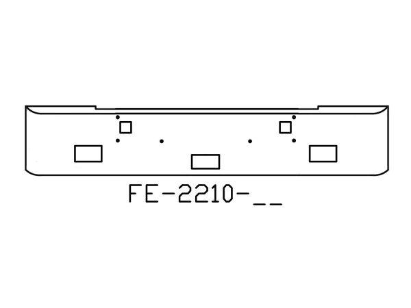 140-FE-2210-06 Aftermarket, Fits Kenworth W900L W900B